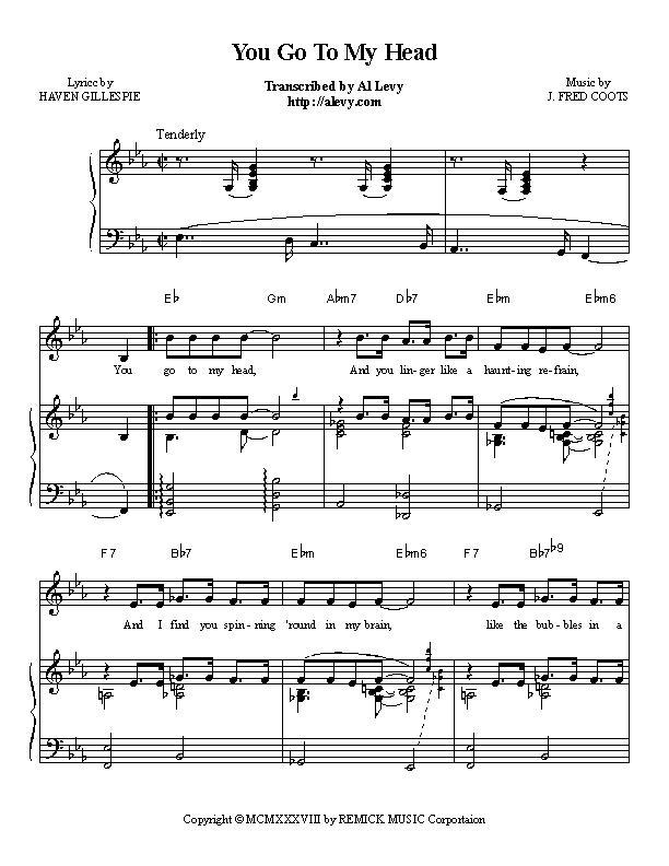 Piano piano bar songs sheet music : head.jpg