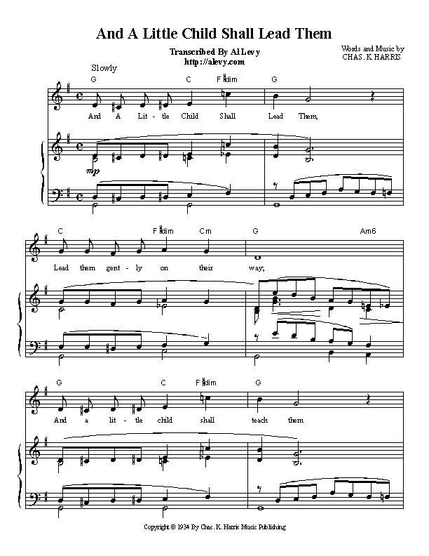 Piano piano bar songs sheet music : child.jpg
