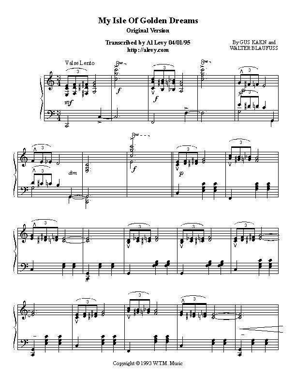 All Music Chords golden sheet music : isle.jpg
