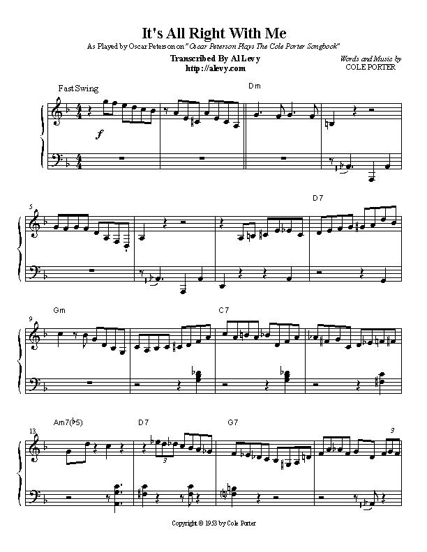 All Music Chords last date sheet music : allright.jpg